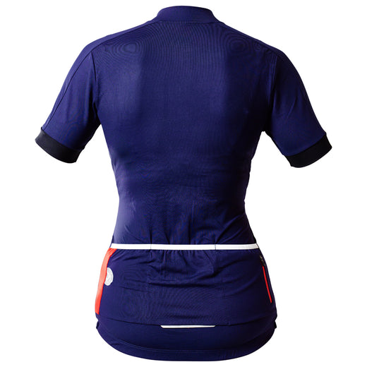 Rivelo Womens Ditchling Jersey - Navy
