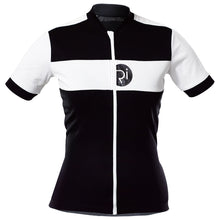 Load image into Gallery viewer, Rivelo Womens Rosedale Jersey - Black/White