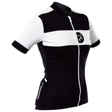 Load image into Gallery viewer, Rivelo Womens Rosedale Jersey - Black/White | VeloVixen
