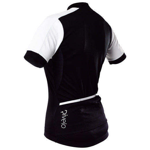 Rivelo Womens Rosedale Jersey - Black/White