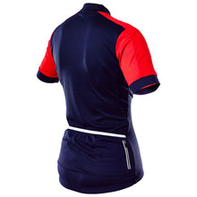 Load image into Gallery viewer, Rivelo Womens Rosedale Jersey - Navy/Red
