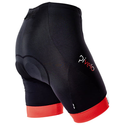 Rivelo Womens Ranmore Shorts - Black/Red