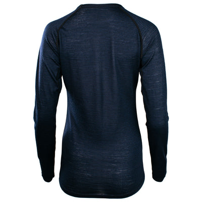 Rivelo Ashdown Merino Long Sleeve Base Layer - Navy/Black
