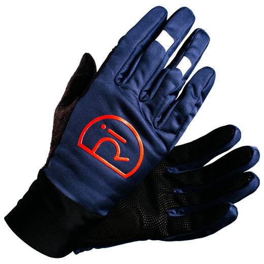 Rivelo Ashurst Softshell Gloves - Navy/Red | Velo Vixen