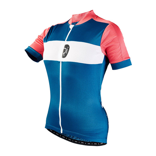 Rivelo Womens Rosedale Jersey - Teal/Coral