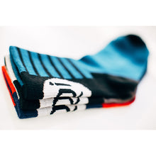 Load image into Gallery viewer, Rivelo Stanage Socks - Navy/Red
