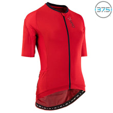Load image into Gallery viewer, Rivelo Veleta Climber Jersey - Red/Navy | VeloVixen