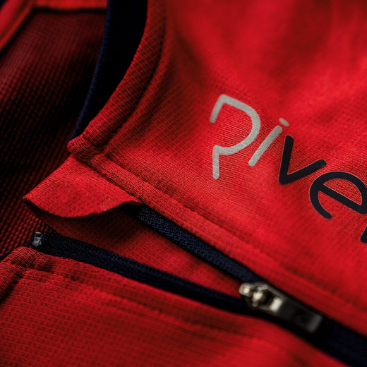 Rivelo Veleta Climber Jersey - Red/Navy