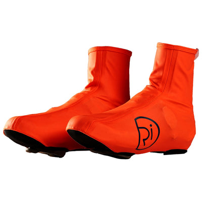 Rivelo Balham Waterproof Overshoes - Fluro Orange