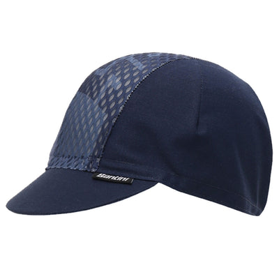 Santini Tono Cycling Cap - Blue Airy