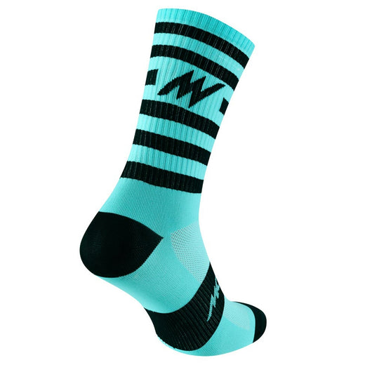 Morvélo Series Stripe Socks - Celeste