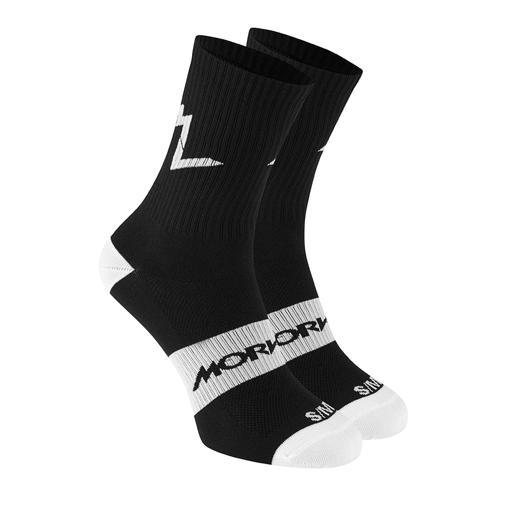Morvelo Series Emblem Socks (Black)
