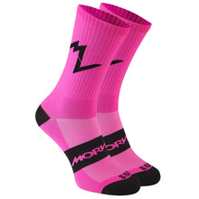 Load image into Gallery viewer, Morvelo Series Emblem Fluro Socks - Pink