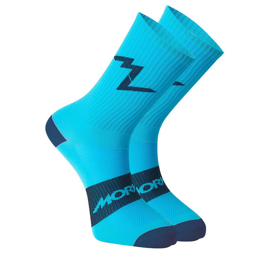 Morvelo Series Emblem Socks - Blue