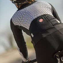 Load image into Gallery viewer, Castelli Sfida Jersey Fz - White/Black