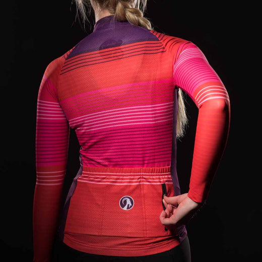 Stolen Goat Bodyline Long Sleeve Cycling Jersey - Weaver