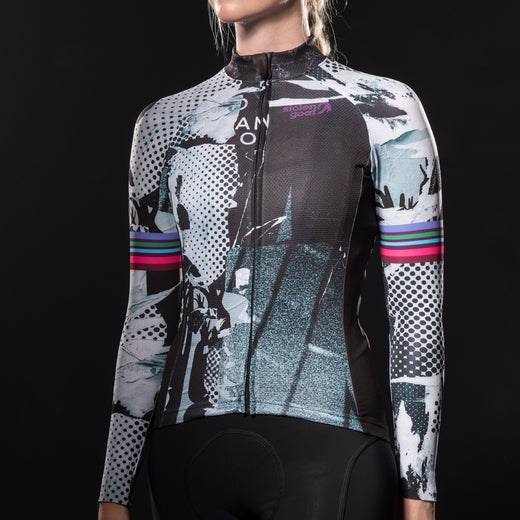 Stolen Goat Bodyline Long Sleeve Cycling Jersey - Flyer