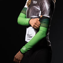 Load image into Gallery viewer, Stolen Goat Orkaan Waterproof Arm Warmers - Green Haze