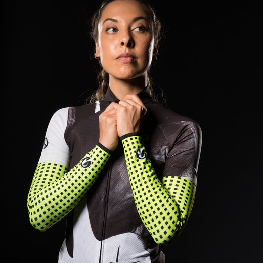 Stolen Goat Orkaan Waterproof Arm Warmers - Grid