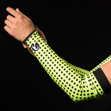 Load image into Gallery viewer, Stolen Goat Orkaan Waterproof Arm Warmers - Grid