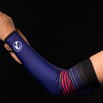 Stolen Goat Orkaan Waterproof Arm Warmers - Purple Haze