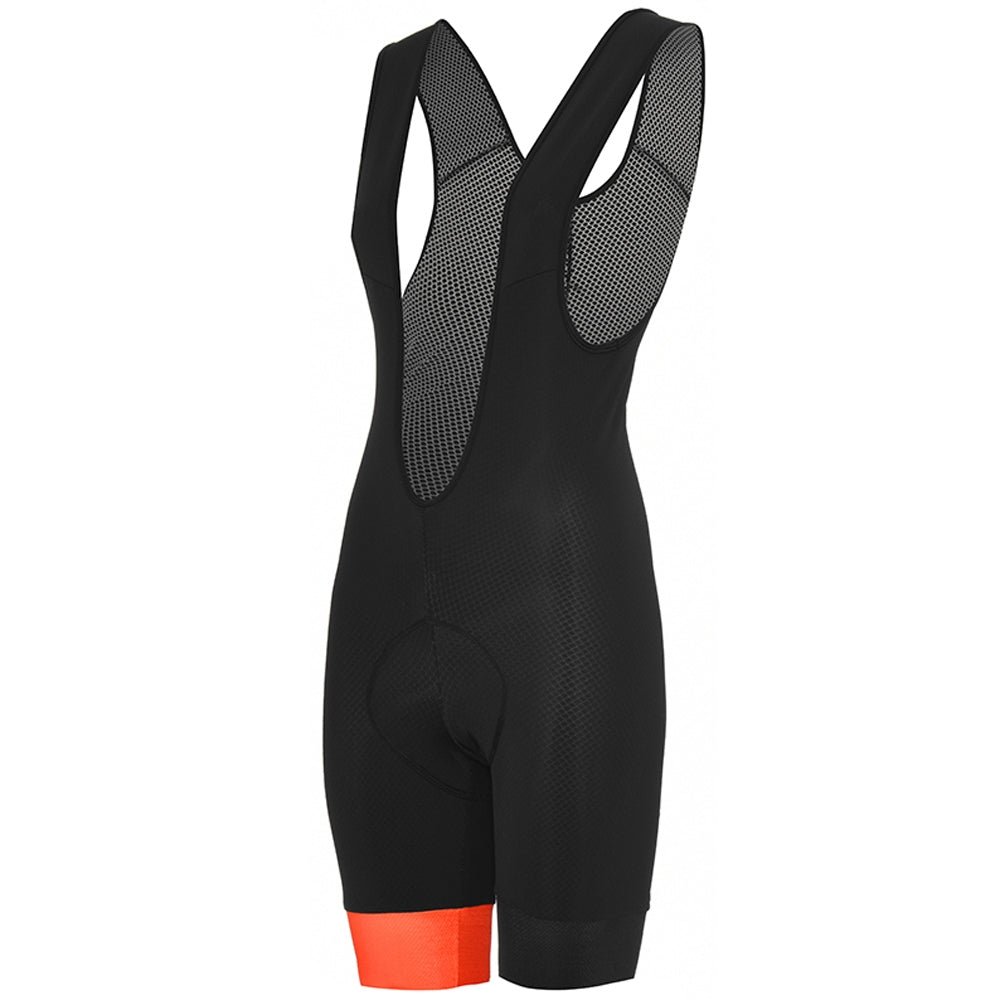 Stolen Goat Bodyline ONE Bib Shorts - Core Orange | Velo Vixen