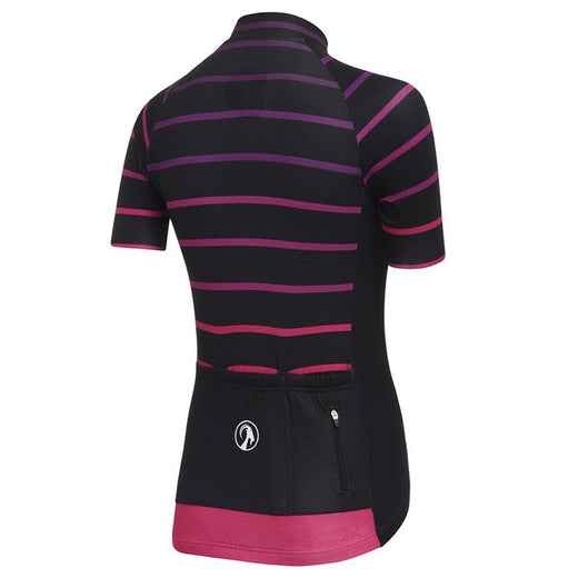 Stolen Goat female short sleeve cycling jersey Cortado Cerise