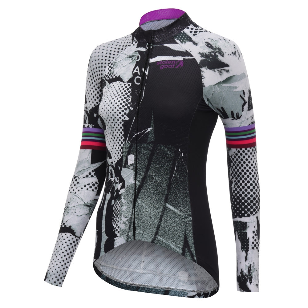 Stolen Goat Bodyline Long Sleeve Cycling Jersey - Flyer | VeloVixen