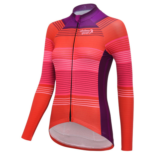 Stolen Goat Bodyline Long Sleeve Cycling Jersey - Weaver | VeloVixen