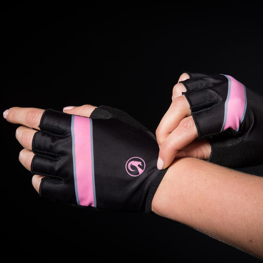 Stolen Goat Cycling Mitts - Champion Pink