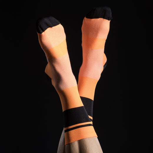 Stolen Goat Coolmax Socks - Orange Krush