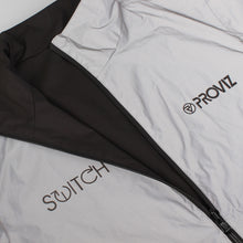 Load image into Gallery viewer, Proviz Switch Reversible Jacket - Black/Reflective