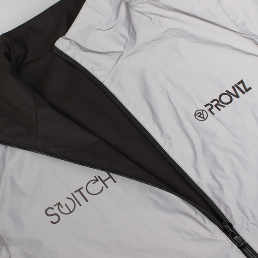 Proviz Switch Reversible Jacket - Black/Reflective
