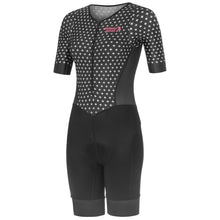 Load image into Gallery viewer, Stolen Goat Hatch Sleeved Tri-suit - Black | VeloVixen