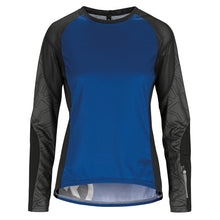 Load image into Gallery viewer, Assos Trail Womens Long Sleeve Jersey - Twilight Blue