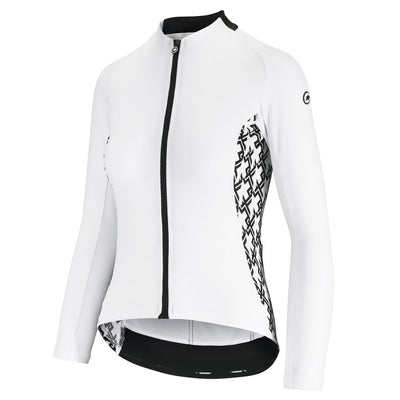 Assos UMA GT Summer Long Sleeve Jersey - Holy White
