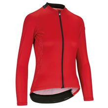 Load image into Gallery viewer, Assos UMA GT ladies cycling jersey long sleeve red - VeloVixen