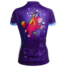 Load image into Gallery viewer, Unicorn womens cycling jersey Primal