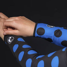 Load image into Gallery viewer, Stolen Goat Orkaan Waterproof Arm Warmers - Polka Switch