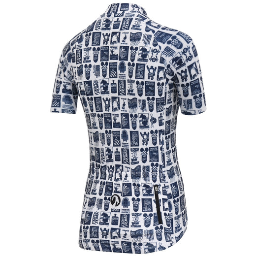 Stolen Goat womens cycling jersey navy white