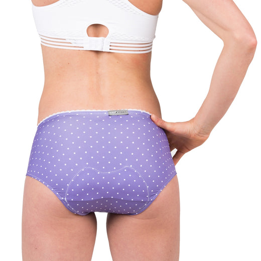 VeloVixen Padded Cycling Knickers - Ultra Violet Spots