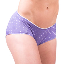Load image into Gallery viewer, VeloVixen Padded Cycling Knickers - Ultra Violet Spots