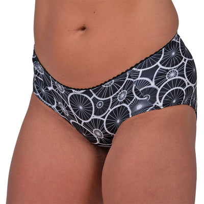 VeloVixen Padded Cycling Knickers - Wheelie Black