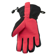 Load image into Gallery viewer, Madison Stellar Waterproof Gloves (Black / Diva Pink)