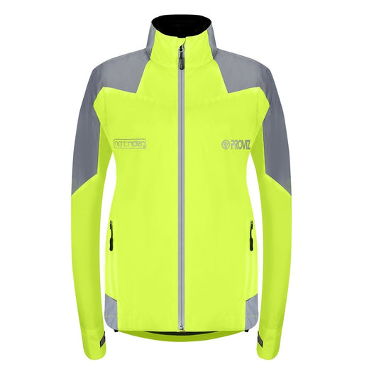 Proviz Nightrider Cycling Jacket 2.0 - Yellow | VeloVixen