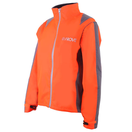 Proviz Nightrider High Visibility Waterproof Jacket - Orange | VeloVixen
