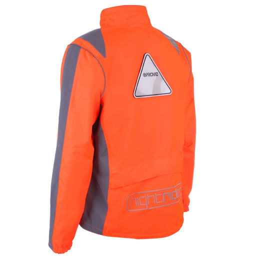 Proviz Nightrider High Visibility Waterproof Jacket - Orange