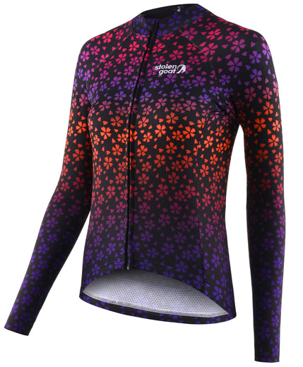 Stolen Goat Bodyline Long Sleeve Womens Cycling Jersey - NorI | VeloVixen