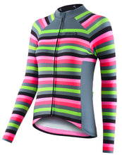Load image into Gallery viewer, Stolen Goat Bodyline Long Sleeve Womens Cycling Jersey - Slam | VeloVixen