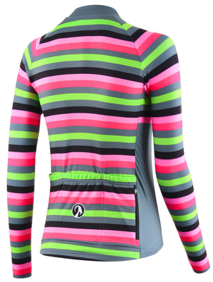 Stolen Goat Bodyline Long Sleeve Womens Cycling Jersey - Slam